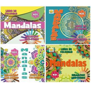 LIBRO DE COLOREAR 5117 MANDALAS 97PAG