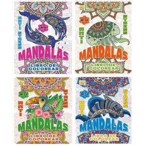 LIBRO DE COLOREAR 5107 96 MANDALAS