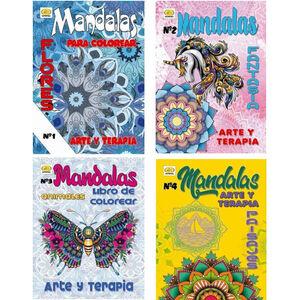 LIBRO DE COLOREAR 5113 48 MANDALAS