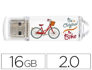 PENDRIVE TECH1TECH 16GB BE-BIKE TEC4005-16 MAK247733