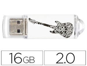 PENDRIVE TECH1TECH 16GB CRAZY GUITAR TEC4006-16 MAK247735