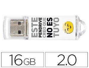 PENDRIVE TECH1TECH 16GB NO ES TUYO TEC4007-16 MAK247737