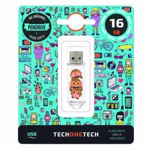 PENDRIVE TECH1TECH 16GB NOEVIL MONKEY 247608