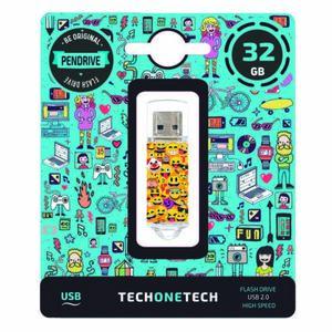 PENDRIVE TECH1TECH 32GB EMOJIS 247609