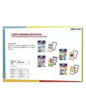 CARTAS EDUCATIVAS CON ROTULADOR PARA COLOREAR