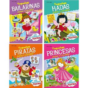 LIBRO DE COLOREAR 5336 PEQ PRINCESAS