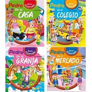 LIBRO DE COLOREAR 5337 PEDRO EN