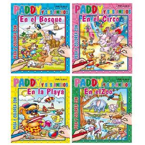 LIBRO DE COLOREAR 5357 PADDY PEGA Y C