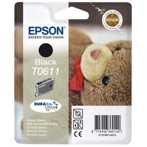 CARTUCHO EPSON T0611 NEGRO *