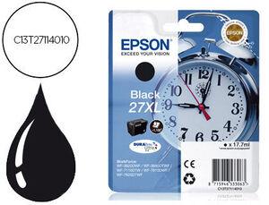 CARTUCHO EPSON 27XL C13T27114010 NEGR C13T27114012 MAK166030