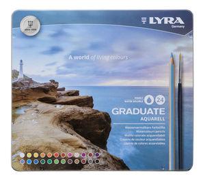 FILA LAPIZ COLOR LYRA ACUAR.MET24+PINC 2881240 MAK880173