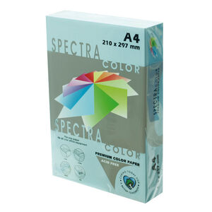PLUS OFFICE PAPEL SPECTRA A4 80GR 500H AZUL CIELO IT180 A4/500 MAK001011