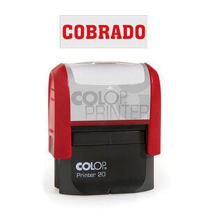 COLOP SELLO COMERCIAL COLOP COBRADO ROJO 141682 MAK040135