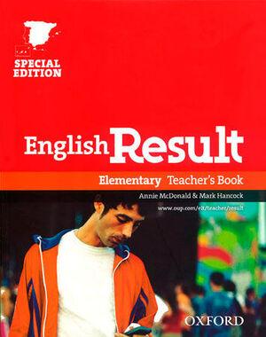 ENGLISH RESULT ELEMENTARY. TEACHER'S BOOK ED 10