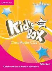 KID'S BOX AMERICAN ENGLISH STARTER CLASS AUDIO CDS (2) 2ND EDITION