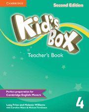 KID'S BOX LEVEL 4 TEACHER'S BOOK 2ND EDITION
