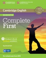 COMPLETE FIRST STUDENT'S BOOK WITHOUT ANSWERS WITH CD-ROM 2ND EDITION