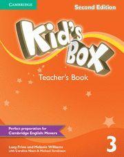 KID'S BOX LEVEL 3 TEACHER'S BOOK 2ND EDITION
