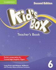 KID'S BOX LEVEL 6 TEACHER'S BOOK 2ND EDITION