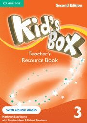 KID'S BOX LEVEL 3 TEACHER'S RESOURCE BOOK WITH ONLINE AUDIO 2ND EDITION