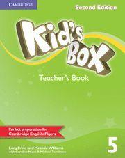 KID'S BOX LEVEL 5 TEACHER'S BOOK 2ND EDITION