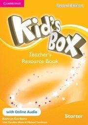 KID'S BOX STARTER TEACHER'S RESOURCE BOOK WITH ONLINE AUDIO 2ND EDITION