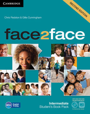 FACE2FACE INTERMEDIATE STUDENT'S BOOK WITH DVD-ROM AND ONLINE WORKBOOK PACK 2ND