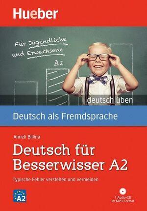 DT.ÜBEN DT.F.BESSERWISSER A2(L+CD-AUD.)