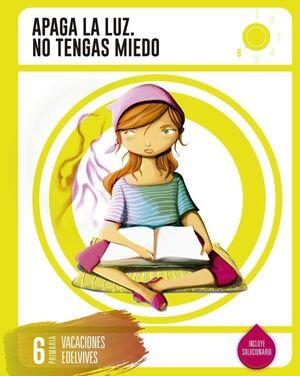 LIBROS DE VACACIONES 6º.PRIMARIA EDELVIVES