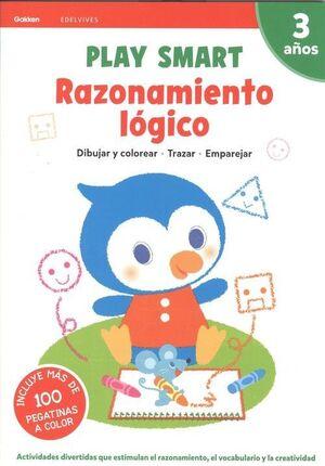 RAZONAMIENTO LOGICO. 3 AÑOS EDELVIVES