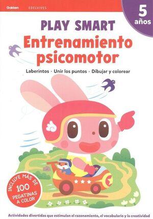 ENTRENAMIENTO PSICOMOTOR. 5 AÑOS EDELVIVES