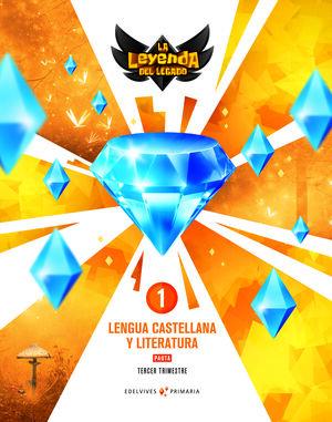 PROYECTO: LA LEYENDA DEL LEGADO. LENGUA CASTELLANA Y LITERATURA 1. PAUTA. TRIMES