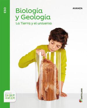 BIOLOGIA Y GEOLOGIA SERIE AVANZA 1 ESO SABER HACER