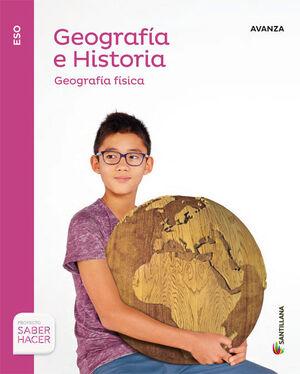 GEOGRAFIA E  HISTORIA AVANZA 1 ESO SABER HACER
