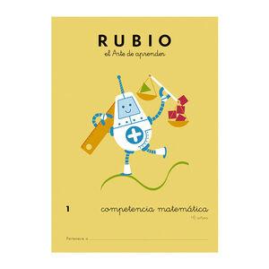 CUADERNO RUBIO COMPET.MATEMATICA 1
