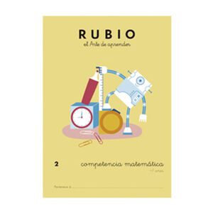 CUADERNO RUBIO COMPET.MATEMATICA 2