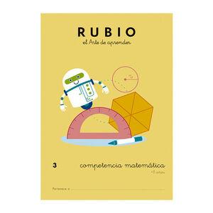 CUADERNO RUBIO COMPET.MATEMATICA 3