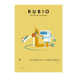 CUADERNO RUBIO COMPET.MATEMATICA 5