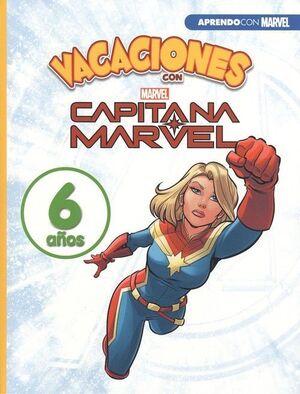 LIBROS DE VACACIONES LOS VENGADORES 6 AÑOS