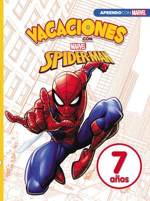 LIBRO DE VACACIONES CON SPIDER-MAN (LIBRO EDUCATIVO MARVEL CON ACTIVIDADES
