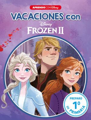 LIBRO DE VACACIONES CON FROZEN II (LIBRO EDUCATIVO DISNEY CON ACTIVIDADES)