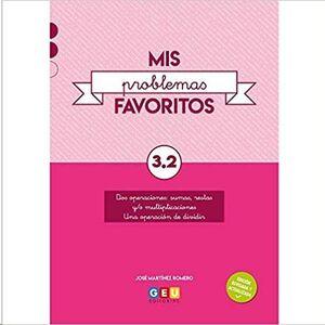 MIS PROBLEMAS FAVORITOS 3º CUADERNO 3.2