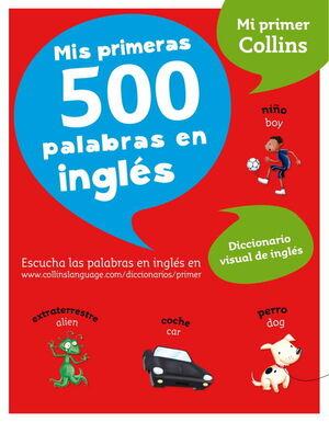 PRIMERAS 500 PALABRAS INGLES.