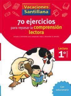 LIBRO DE VACACIONES COMPRENSION LECTORA 1º.PRIMARIA VACACIONES SANTILLANA LECTURA