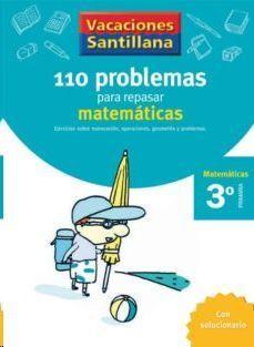 LIBRO DE VACACIONES MATEMATICAS 3º.PRIMARIA VACACIONES SANTILLANA