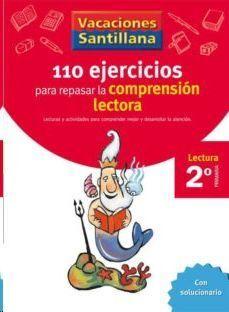 LIBRO DE VACACIONES COMPRENSION LECTORA 2º.PRIMARIA VACACIONES SANTILLANA LECTURA
