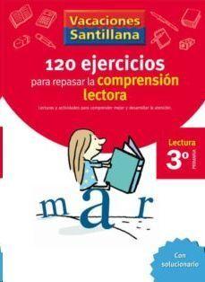 LIBRO DE VACACIONES COMPRENSION LECTORA 3º.PRIMARIA VACACIONES SANTILLANA LECTURA