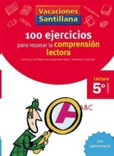 LIBRO DE VACACIONES COMPRENSION LECTORA 5º.PRIMARIA VACACIONES SANTILLANA LECTURA