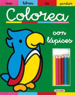 COLOREA CON CERAS.(MIS LIBROS PINTAR).REF:332-004