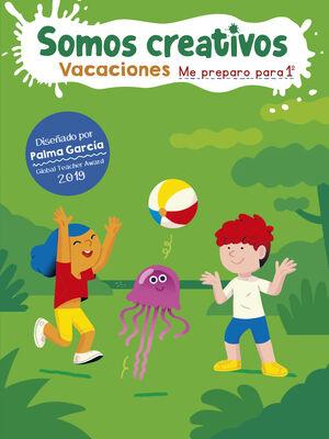 LIBRO DE VACACIONES SOMOS CREATIVOS